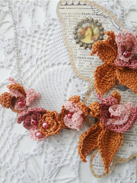 Minute Crochet Jewelry – Strelizia