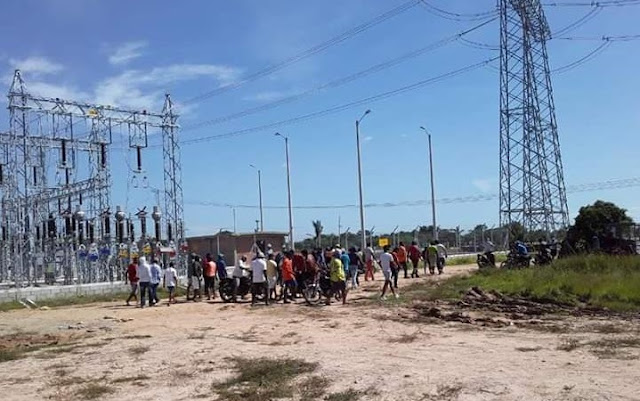 hoyennoticia.com, De La Loma no dejaron traer transformador a Valledupar