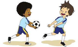 permainan estafet bola www.simplenews.me
