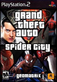 Grand Theft Auto Spider City PS2 ISO