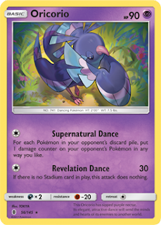 Oricorio Guardians Rising Pokemon Card
