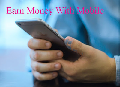 Revenue from various mobile apps. make money with mobile phone