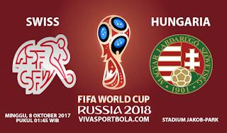 Prediksi Swiss vs Hungaria 8 Oktober 2017