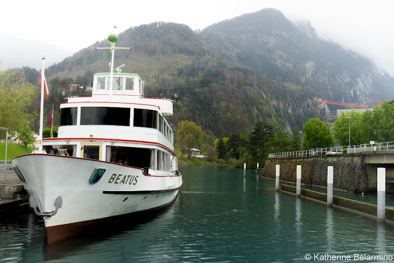 Interlaken to Thun Boat 5 Reasons Why You'll Want the Swiss Travel Pass