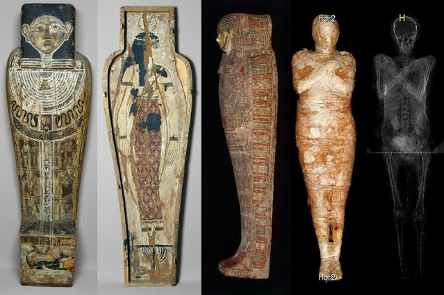 Egyptian mummy found to be pregnant woman, not a male priest