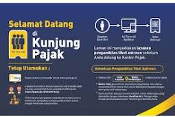 Cara Mendapatkan Tiket Antrean Secara Online Sebelum ke Kantor Pajak