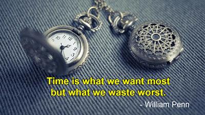 Time quotes - William Penn quotes