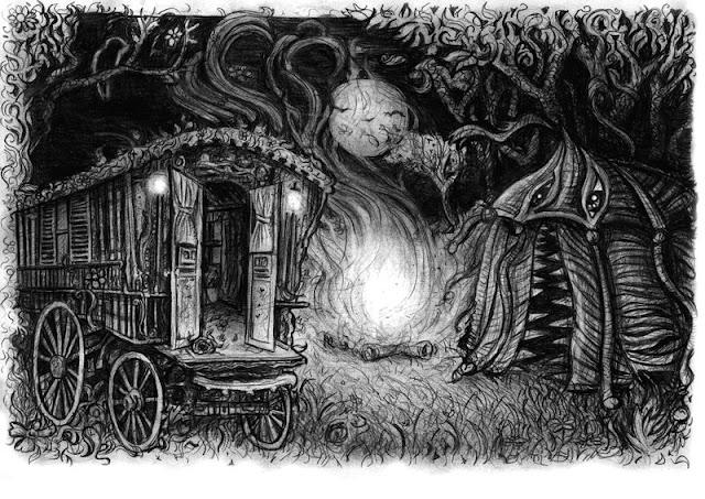 Baśnie na warsztacie, Strach, straszne baśnie, storytelling, sztuka opowieści, Mateusz Świstak, Krwawe Baśnie, VisAnastasis