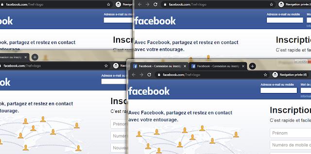 طريقة بسيطة جدا لفتح عدة حسابات فيسبوك على جهازك الكمبيوتر و في نفس المتصفح