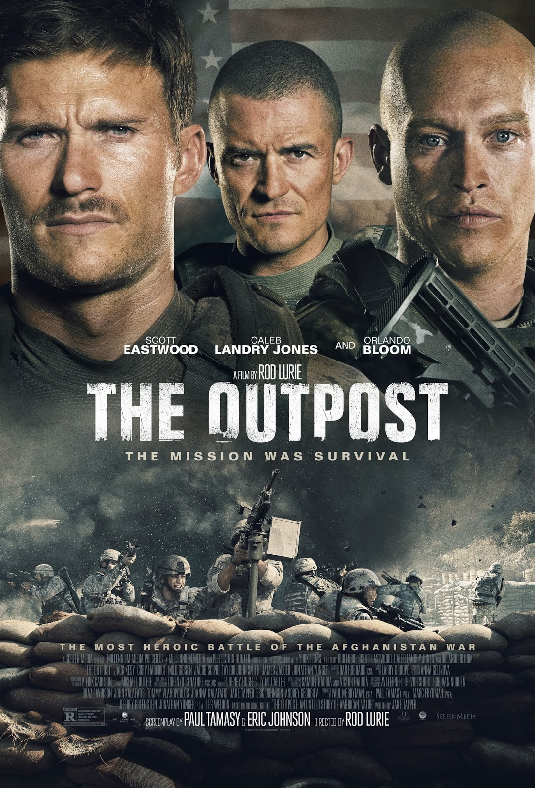 outpost film wojenny afganistan recenzja scott eastwood orlando bloom