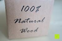 Geschenkbox: Holz Armbanduhr 360° Nut
