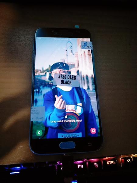 Tips Cara Aman Ganti LCD Samsung J7 Pro SM-J730 OLED