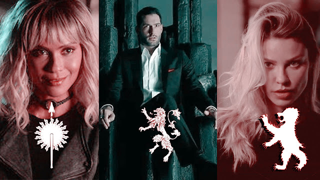Lucifer - Characters Sorted into Game of Thrones Houses