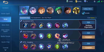 Emblem & Build Karina is the sickest and best in Mobile Legends