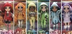 Зимняя коллекция кукол Rainbow High Winter Break 2021: первые фото
