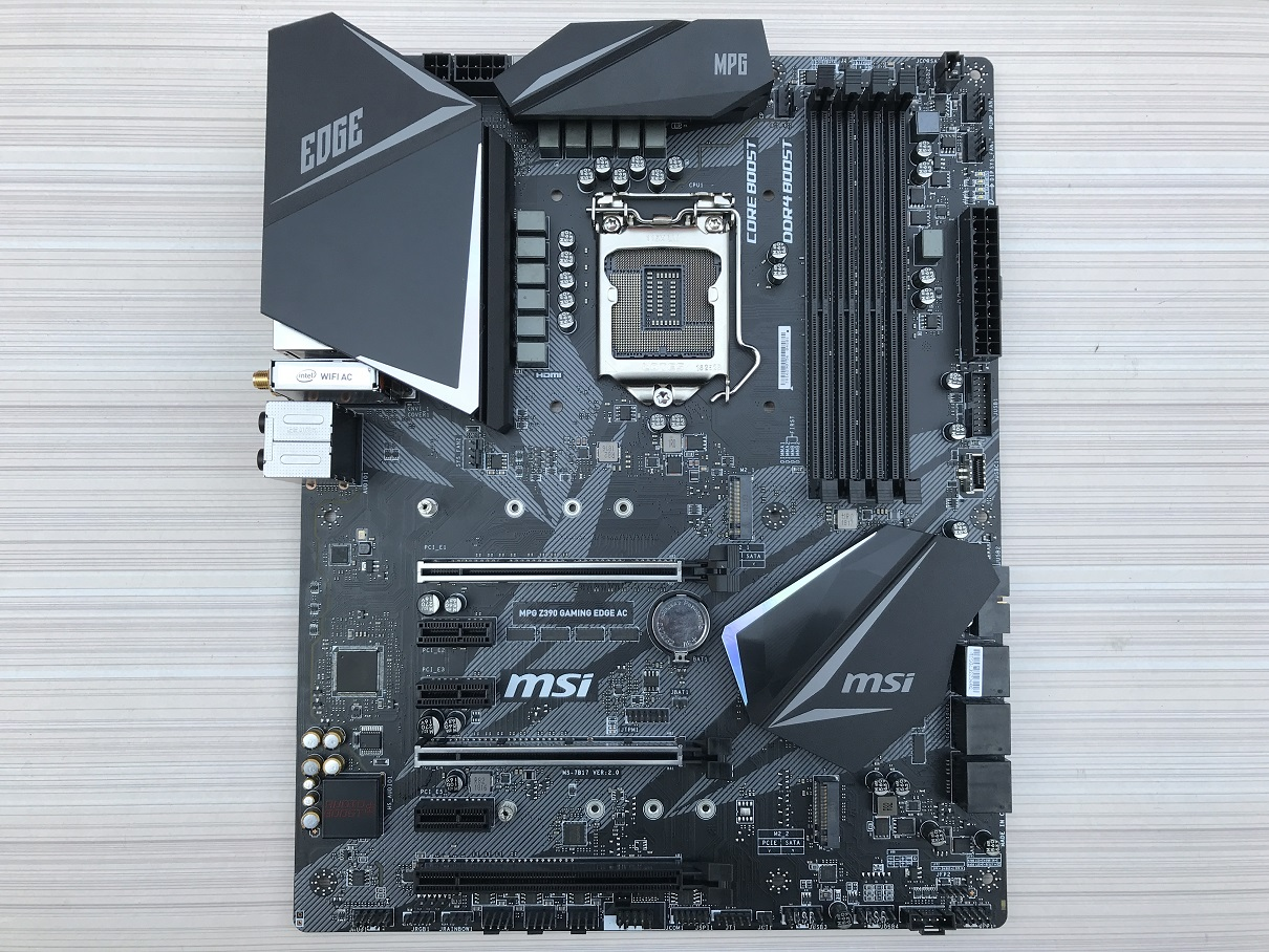 Computers And More Reviews Configurations And Troubleshooting Msi Mpg Z390 Gaming Edge Ac