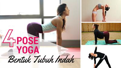 yoga untuk membentuk tubuh wanit