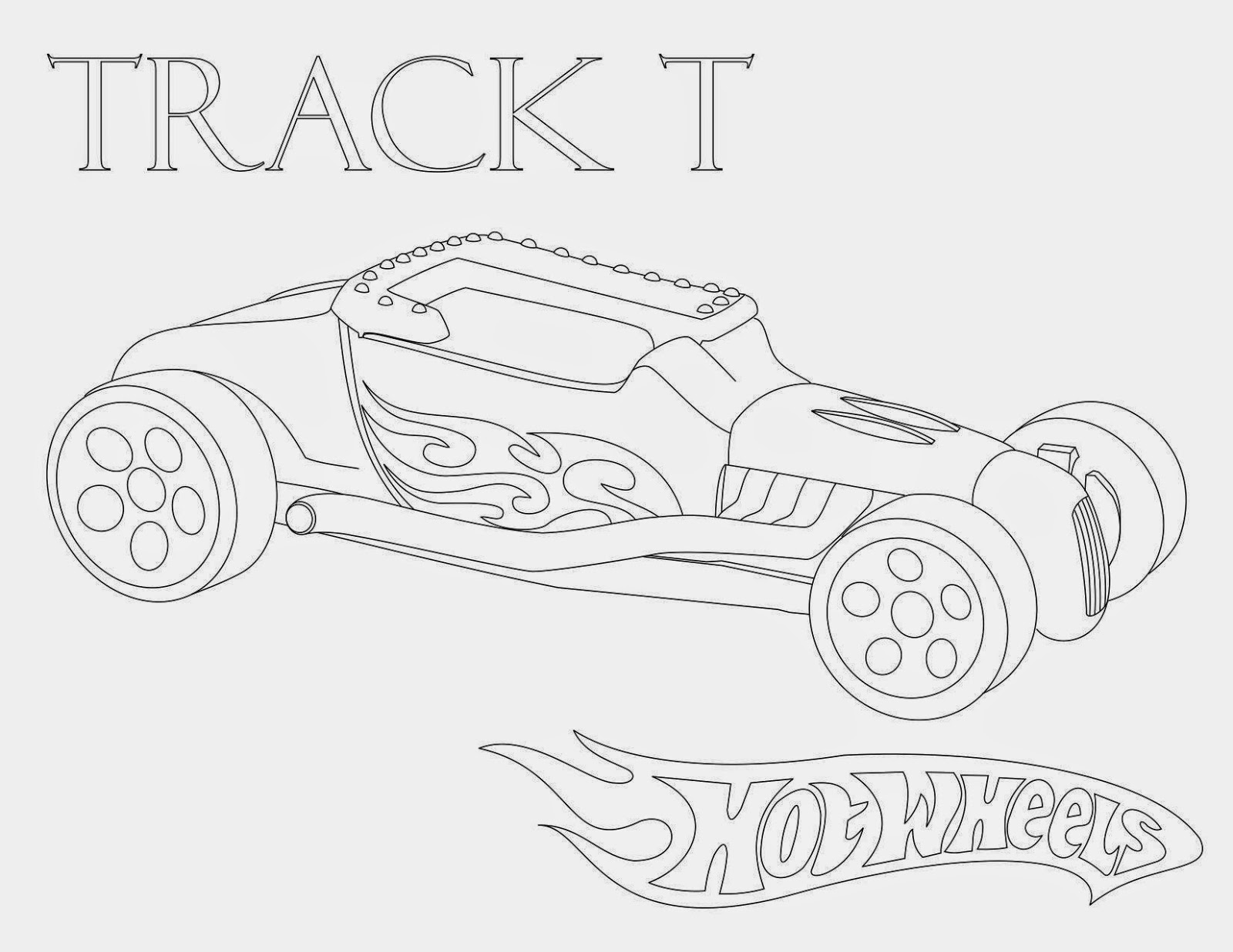 Hot Wheels Coloring Pages 57