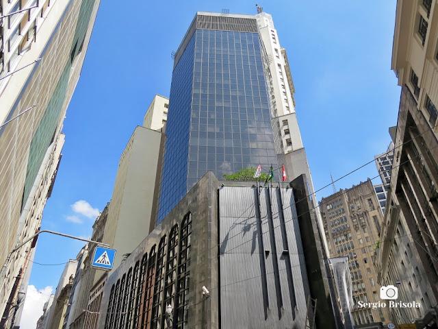 Vista ampla do Edifício Sede do Detran-SP - Centro - São Paulo