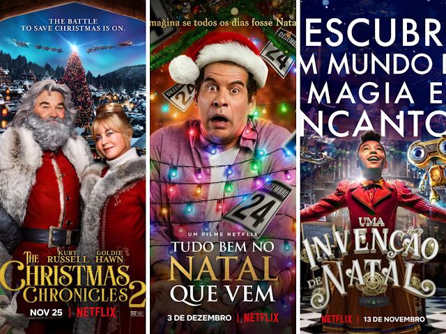 Filmes de Natal da Netflix - edição 2020