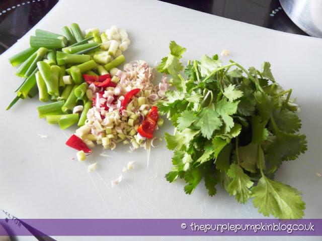 Thai Tuna Fishcakes - under 400 calories