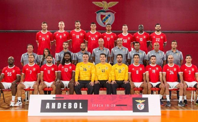 Blog Benfica Plantel de Andebol para a nova temporada