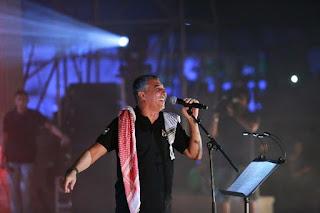عمر العبداللات يشعل أجواء مسرح مدينة روابي في فلسطين وسط حضور فاق العشرون ألف شخص