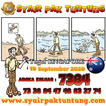 Syair Pak Tuntung Sydney Sabtu 19 September 2020