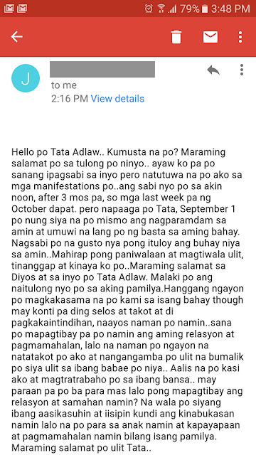 Babaylan Adlaw Reviews, Tata Adlaw Reviews, Filipino Love Spell Caster, Gayuma