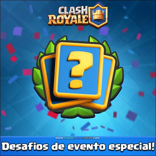 Desafio Copa do Rei em Clash Royale