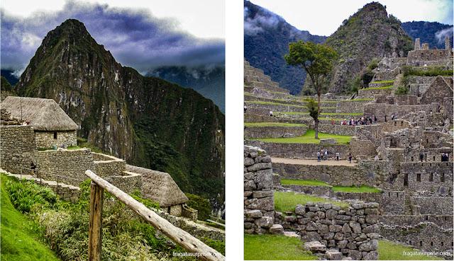 """Wayna Picchu, terraços de cultivo e o """"bairro cerimonial"""" de Machu Picchu"""
