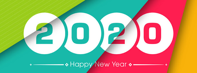 happy new year 2020 facebook cover photos