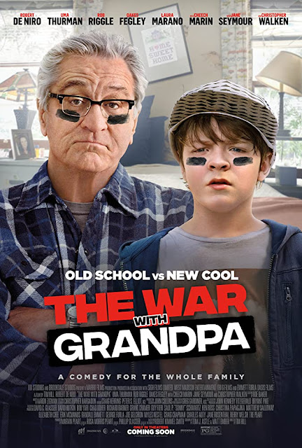 Sinopsis Film War with Grandpa (2020) - Robert De Niro, Uma Thurman