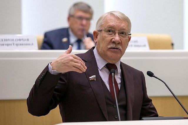 Представитель Татарстана в Совфеде О. Морозов