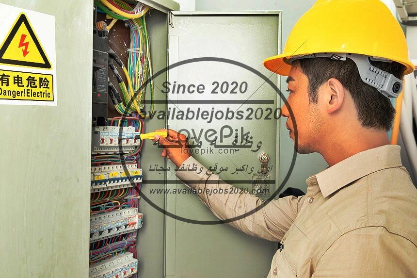 مطلوب فنى كهرباء للعمل بمجموعه قرى