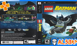 تحميل لعبة LEGO Batman psp iso مضغوطة لمحاكي ppsspp