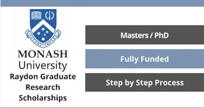 منح رايدون لبحوث الخريجين 2022 / Raydon Graduate Research Scholarships