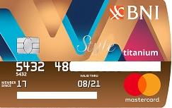 Kartu Kredit BNI Titanium