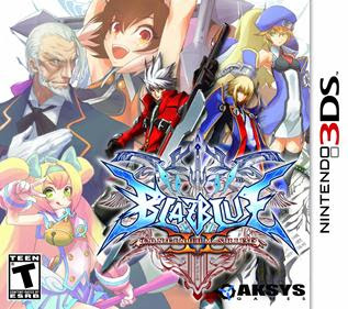 Blazblue Continuum Shift II, 3ds, español, mega