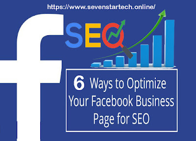 Optimize Your Facebook Business Page for SEO,Facebook Business Page for SEO.Facebook-SEO