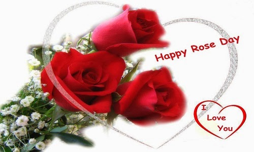 Happy Rose Day Images with best quotes flowers