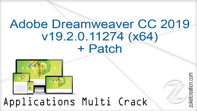 Adobe Dreamweaver CC 2019 v19 2 0 11274 (x64) + Patch | 944 MB -