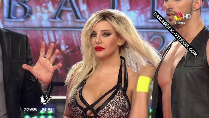 Charlotte Caniggia huge tits cleavage damageinc videos HD