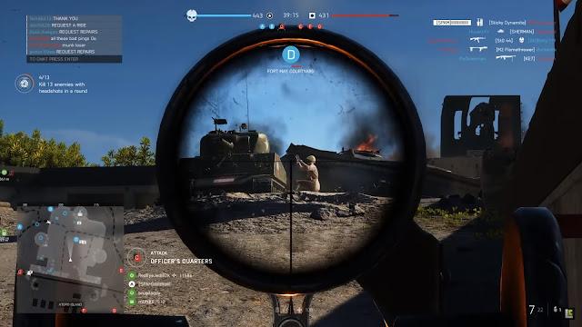 Screenshot Gameplay Battlefield V