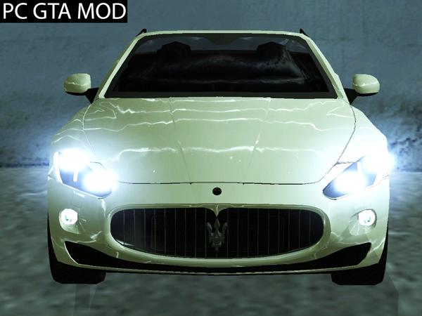 Free Download 2011 Maserati Gran Cabrio Mod for GTA San Andreas