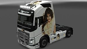 Sirusho skin for Volvo 2012 and 2013
