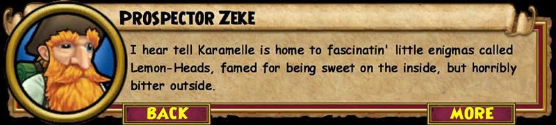 Karamelle Zeke Quest Guide: Lemon-Heads | Wizard101