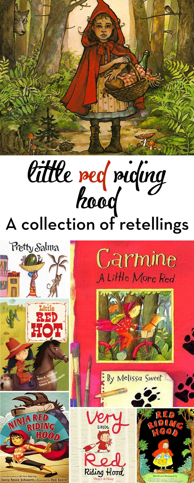 A round-up of the best Little red Riding Hood retellings
