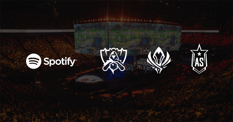 Spotify and Riot Games inks official League of Legends eSports partnership