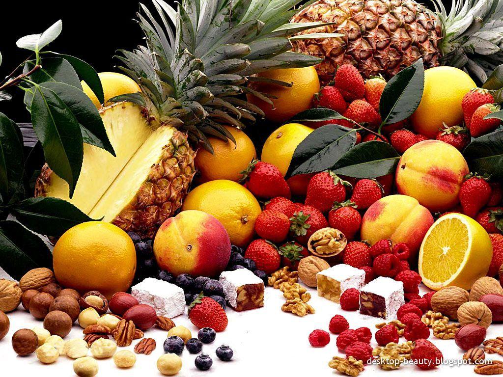Fruit Tablet Wallpaper